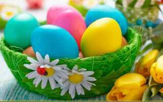 Как покрасить яйца на Пасху своими руками без красителей и химии