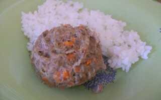 Нежное мясное суфле в мультиварке или пароварке