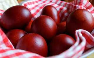 Когда красить яйца на Пасху в 2019 году (в какой день)