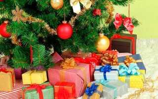 Недорогие новогодние подарки для семьи, друзей и коллег на Новый год 2019