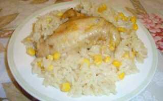 Ленивый рис (рецепт с фото)