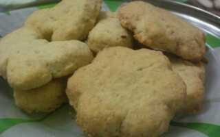 Овсяное печенье простой рецепт