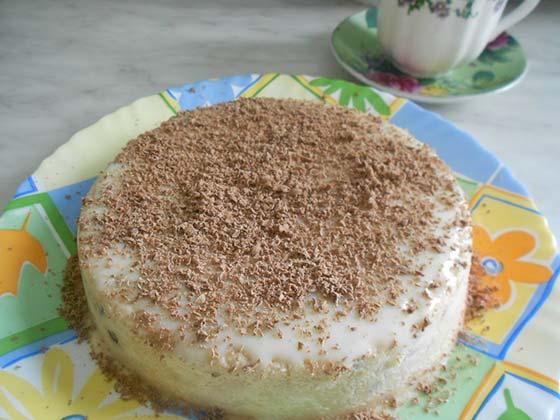 Быстрый-и-легкий-в-приготовлении-торт-без-выпечки-со-сгущенкой