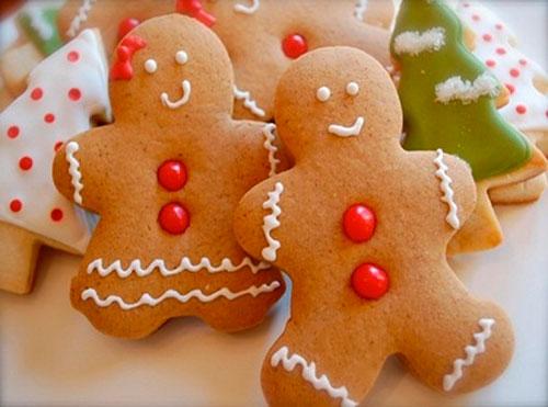 Рецепт новогоднего печенья с имбирем