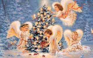 Подборка легких и коротких Рождественских стихов для детей