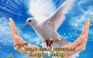 Поздравления с Благовещением Богородицы в стихах 7 апреля 2021