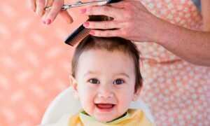 Можно ли стричь ребенка до года?