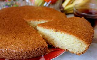 Вкусный пирог на кефире без яиц с яблоками в духовке (без манки)