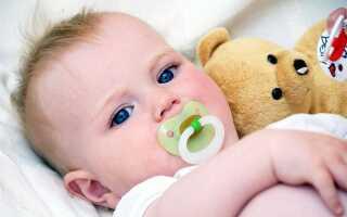Как быстро приучить ребенка к сосанию пустышки