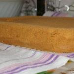 Пышный бисквит в духовке