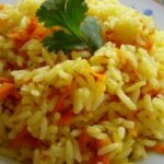 Золотистый рис на гарнир в млуьтиварке