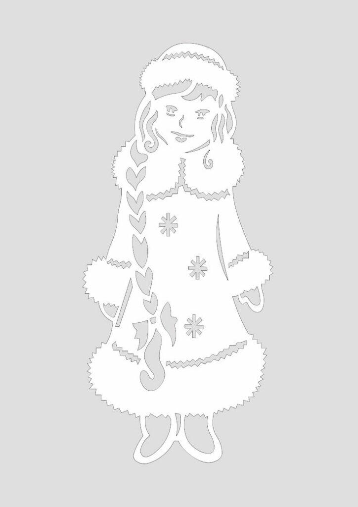 Картинки снегурочки на новый год 2019